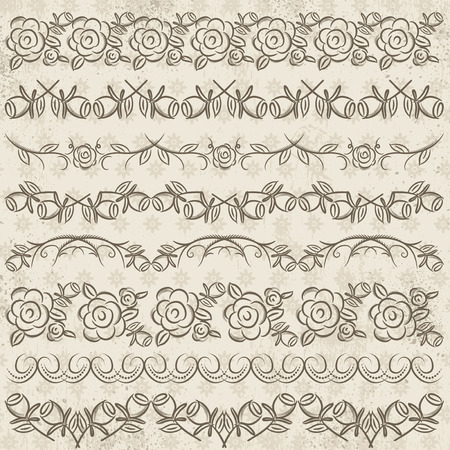 paper punch: Set of Lace Paper with flower