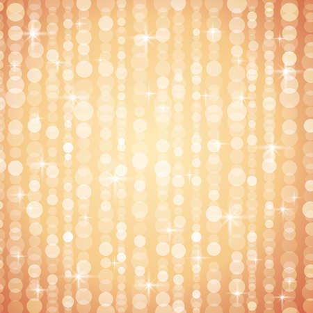 christams: Golden brightnes illustration suitable for christmas or disco backround, vector illustration