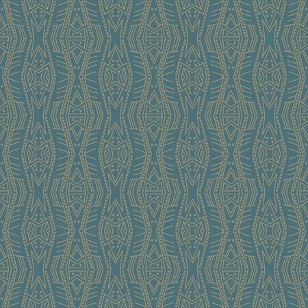 Milieux verts avec des profils sans soudure. Idéal pour l'impression sur le tissu et la réservation de papier ou de ferraille. Illustration vectorielle Vecteurs
