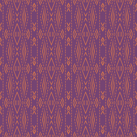 Purple background with seamless pattern. Ideal for printing onto fabric and paper or scrap booking. Vector illustration Illustration