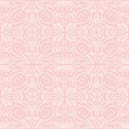 scrap booking: Pink floral seamless patterns Ideal for printing onto fabric and paper or scrap booking.