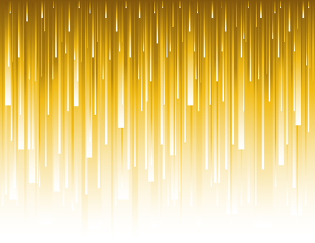 Abstract modern background with golden glittering vertical lines. Backgrounds composed of glowing gold lines. Can be  used for scrap booking, wallpaper, web, invitation, poster, banner, vector