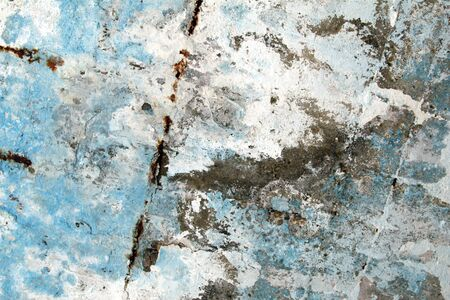 Old grunge textures backgrounds with white and blue colors. Gery Wall Background