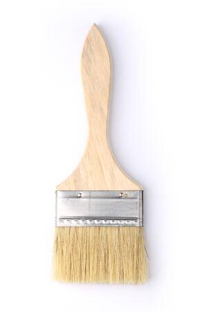 Paint brush isolated on a white background. Stock Photo