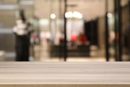 Fashion Store Defocused Blurred Background