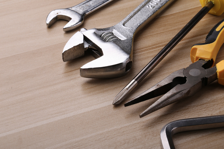 Set of different tools Imagens