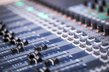 Music mixer Stok Fotoğraf