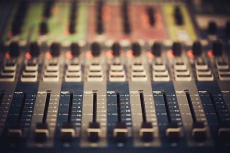 Music mixer 版權商用圖片