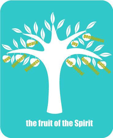 vrucht van de Geest Stock Illustratie