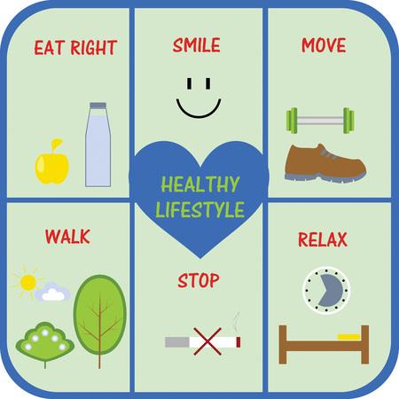 健康的なライフ スタイルの概念の不可欠な部分