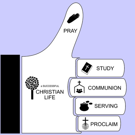 preach: the components for a successful Christian life, presented at hand