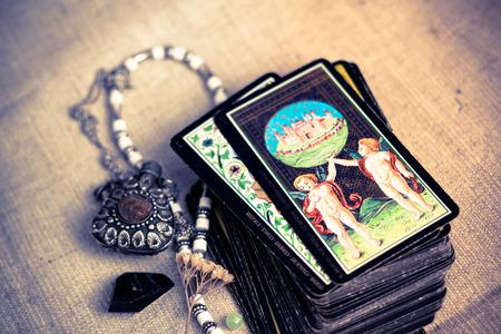 Tarot cards Banque d'images