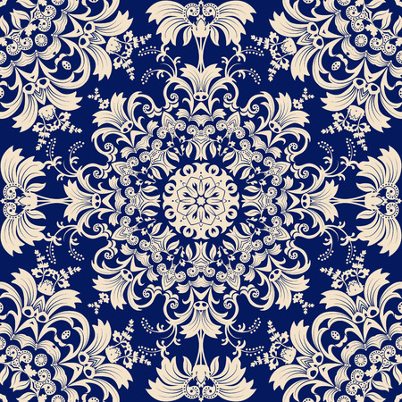 ornament: Seamless ethnic pattern. Abstract background