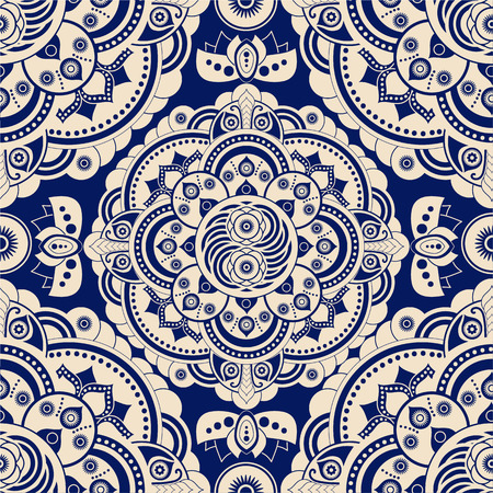 Seamless ethnic pattern. Abstract background