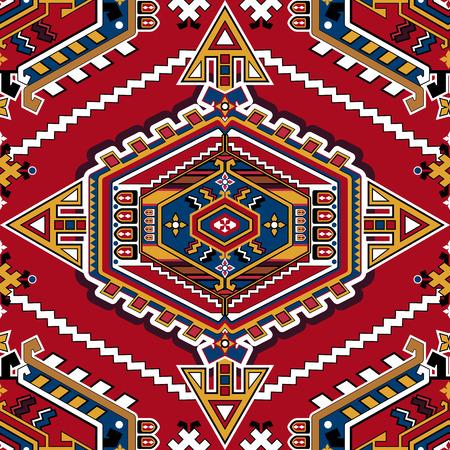 Geometric seamless pattern. Ornamental background 일러스트