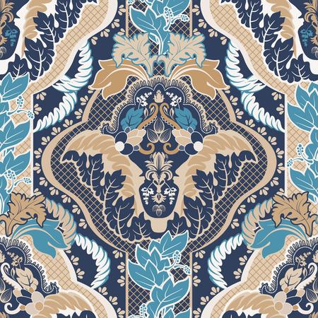 Vintage indian seamless pattern Illustration