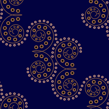 motif floral: Seamless Paisley. Résumé papier peint, fond floral