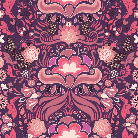 seamless pattern floral: Seamless pattern. Floral Paisley background, wallpaper, pattern