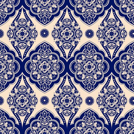 vintage background pattern: Vintage seamless pattern. Ornamental wallpaper, geometric background