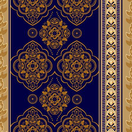 antique wallpaper: Vintage seamless pattern. Ornamental wallpaper, geometric background