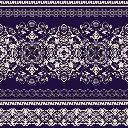 batik: seamless ray�. D�coratif papier peint ornemental floral