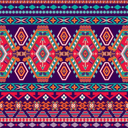 Gestreept naadloos patroon. Kleurrijke bloemen sierbehang