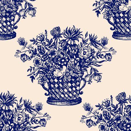 stripe pattern: Damask seamless pattern for wrapping paper, wallpaper, desktop