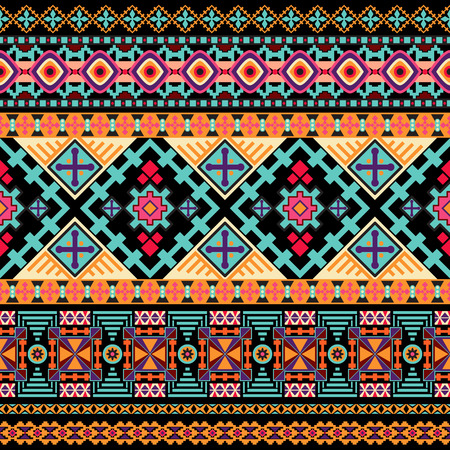 decorative wallpaper: seamless pattern. Decorative border ethnic wallpaper