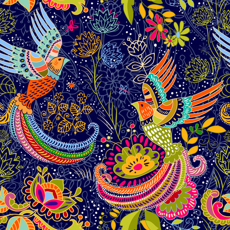 seamless pattern.  cartoon style. Colorful backdrop