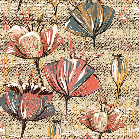Seamless pattern can be used for wallpapers, pattern fills, web page backgrounds, surface textures 일러스트