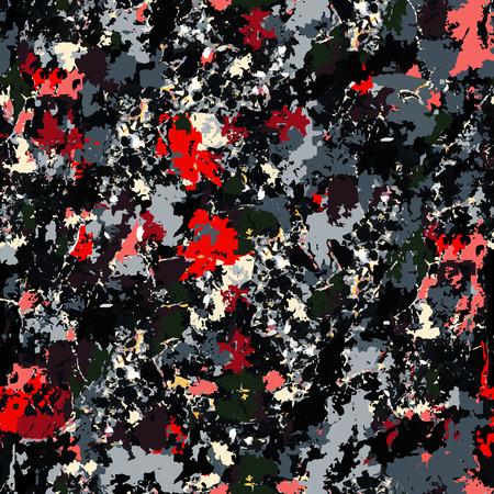 Dark seamless pattern. Fashion abstract style