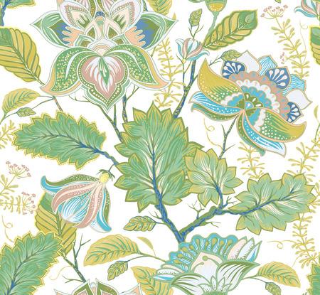 vintage patterns: Spring floral seamless pattern. Provence style