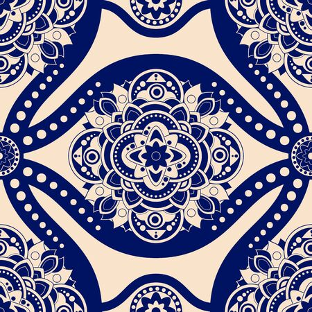 victorian wallpaper: Colorful seamless damask pattern, classic wallpaper, background