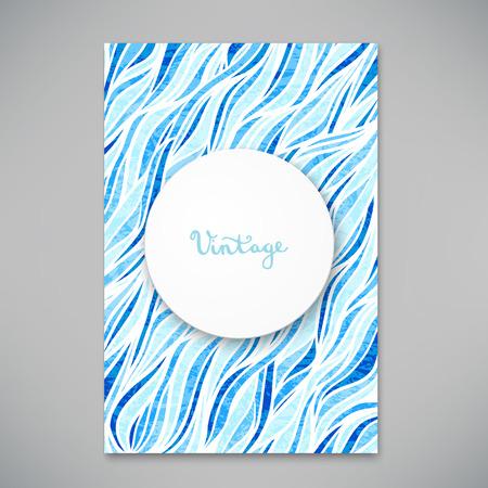 초대 또는 발표 그림에 대 한 아름 다운 카드