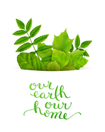 our: Our earth our home
