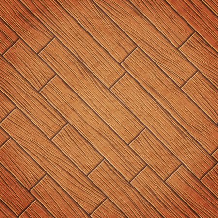 Realistic wood texture, background from boards, vector illustration