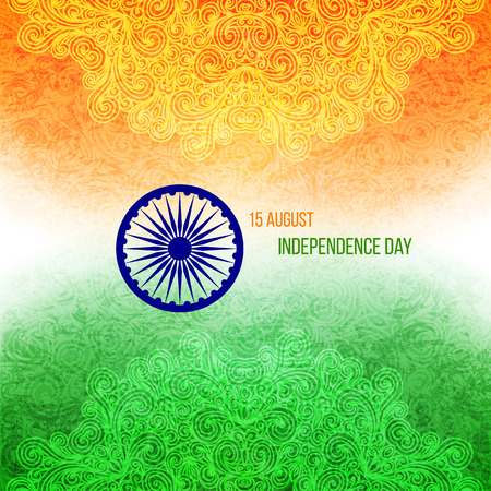 Indian Independence Day Illustration