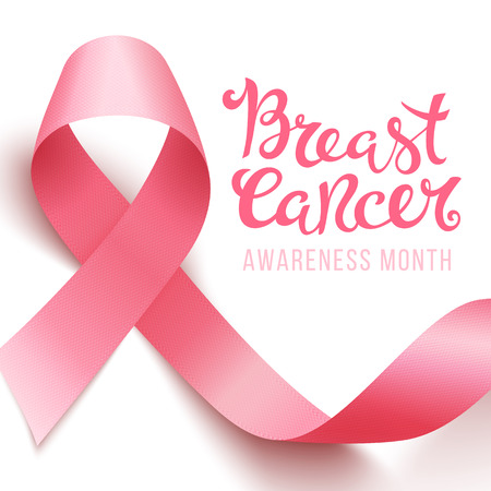 Breast cancer awareness Illustration