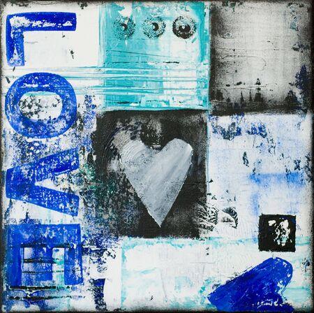 create: con cuore d'arte, opere d'arte viene creata e dipinta da me stesso