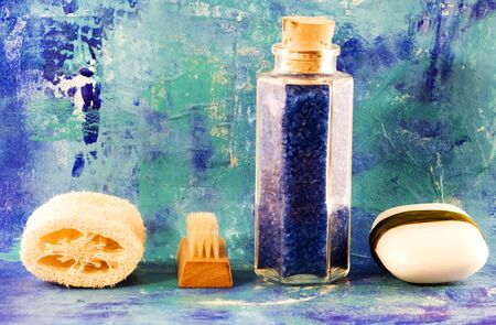 still life with wellness and bath items Stock Photo - 3149376