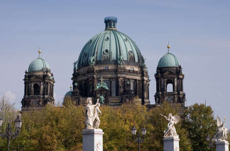 Berlin Cathedral, Berliner Dom in german Capital Stock Photo - 3149384