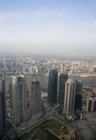 skyline of ShanghaiChina