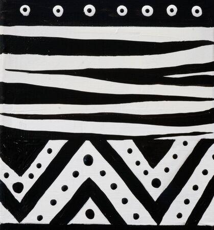 create: african disegno a mano in bianco e nero, opere d'arte viene creata e dipinta da me stesso