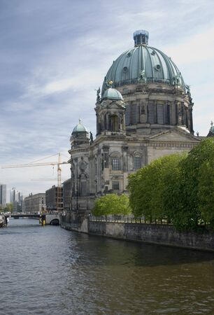 Berliner Dom/Berlin Cathedral in German capitel  Stock Photo - 3176118
