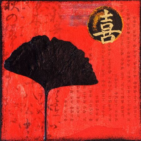 Artwork asian style, artwork is created and painted by myself; artwork; Stock Photo