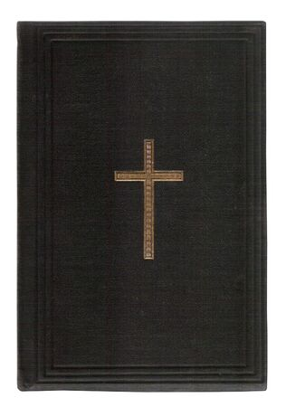 bookcover of old holy bible