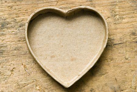heartshaped empty box Stock Photo - 3190335