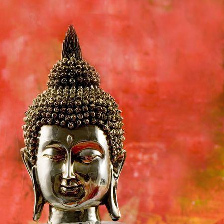 Still life asian style with buddha statue Stock Photo - 3200771