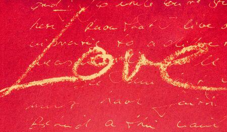 lyrics: Printed design with handwritten