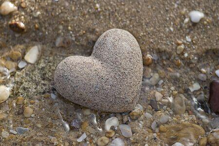 stone heart photo